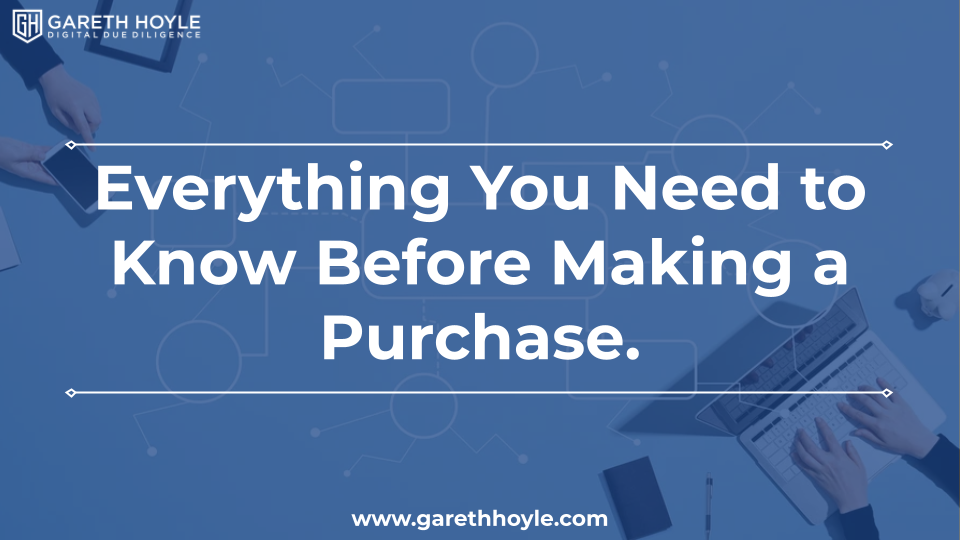 Due Diligence for Buying an Online Business: Everything You Need to Know Before Making a Purchase