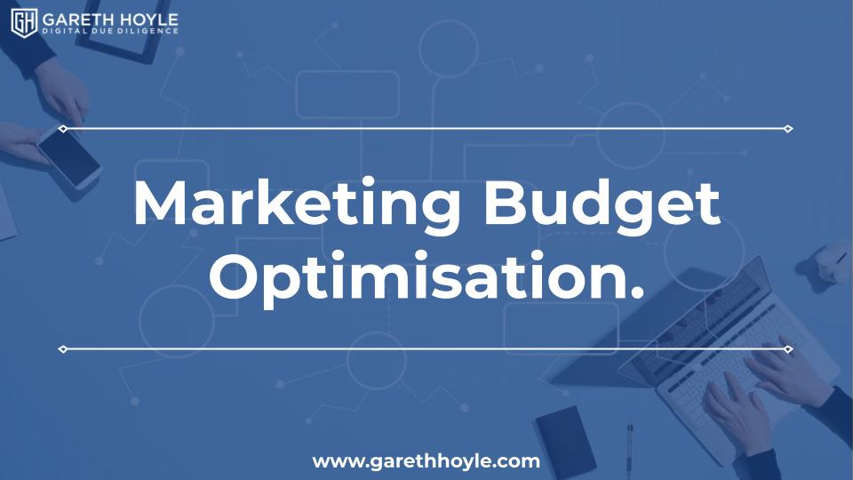 Marketing Budget Optimisation